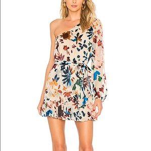 Tularosa Ina one shoulder mini dress